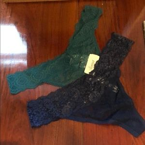 Soma lace thongs BRAND NEW